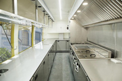 Food truck kitchen for professionals