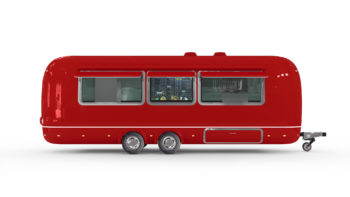 New food trailer in Europe